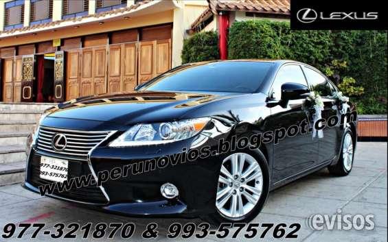 Lexus para novias