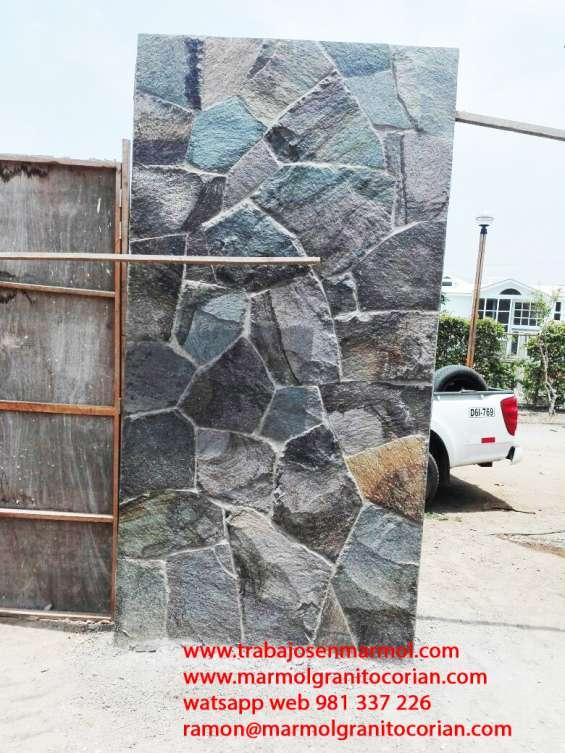 Mantenimiento de piedra talamoye, piedra granítica, piedra laja