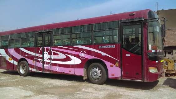 Vendo 2 buses zhongtong 2010.
