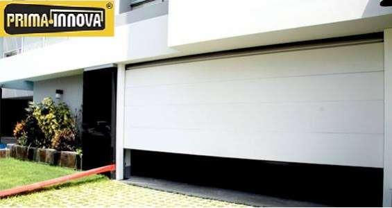 Puertas de garaje seccional lima - perú
