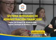 CURSO ESPECIALIZADO SISTEMA INTEGRADO DE ADMINISTRACIÓN FINANCIERA SIAF 2020 (VIRTUAL ONLI