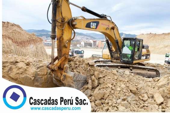 Excavaciones en obra,