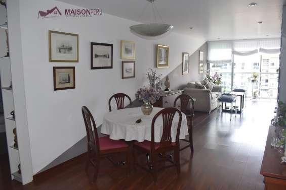 Vendo pent-house 264 m2 a. comunes san isidro (ref: 677)