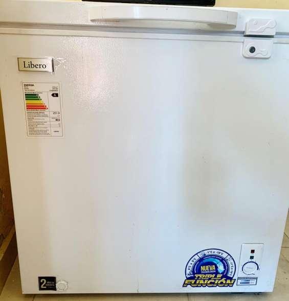 Conservadora congeladora dual libero 150 litros 9/10