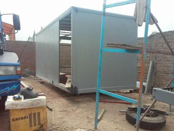 Carroceria llerlin - fabricación - furgones - barandas - plataformas