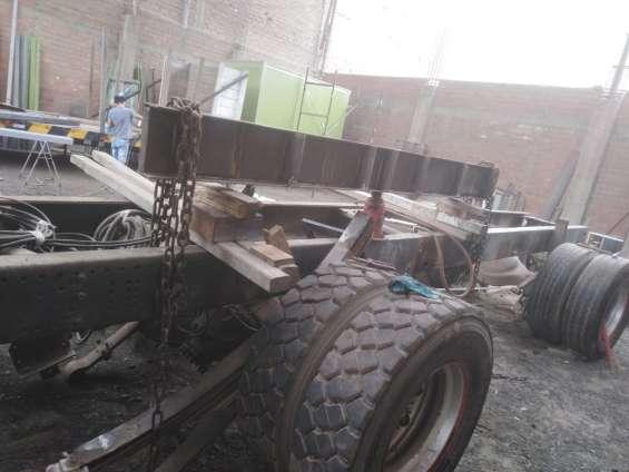 Fotos de Enderezado de chasis - alargado de chasis- reparación 1