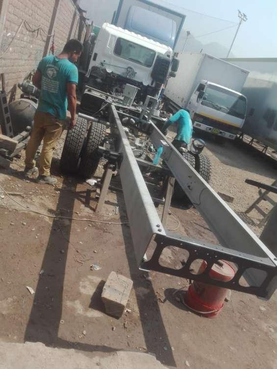 Fotos de Enderezado de chasis - alargado de chasis- reparación 3