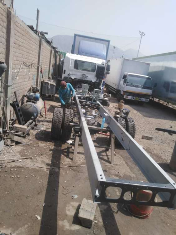 Fotos de Enderezado de chasis - alargado de chasis- reparación 6
