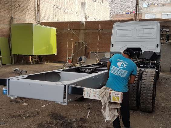 Fotos de Enderezado de chasis - alargado de chasis- reparación 5