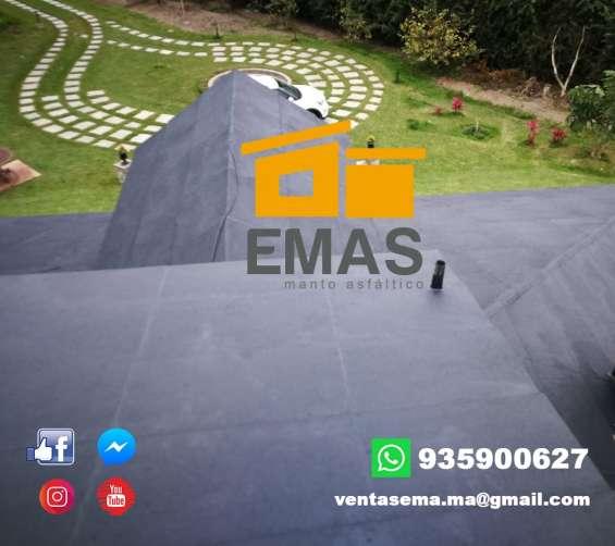 Fotos de Venta de manto asfaltico gravillado 6