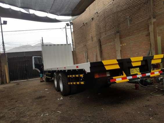 Venta y fabricación de plataformas,barandas y furgones - grandes ofertas
