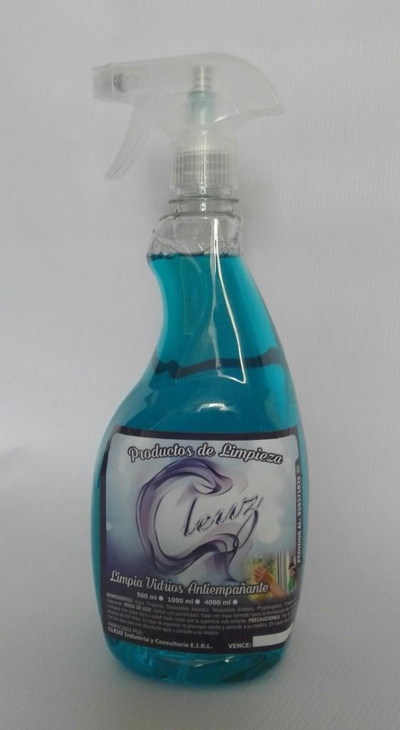 Limpia vidrios por litro