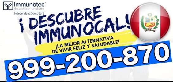 Immunocal peru original beneficios telf 999-200-870 oficial