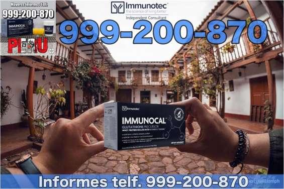 Immunocal peru original beneficios telf 999-200-870