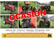 En Ocasión Tractor Japonés Massey Ferguson 231