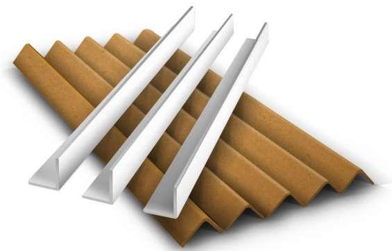 Esquineros de cartón laminado