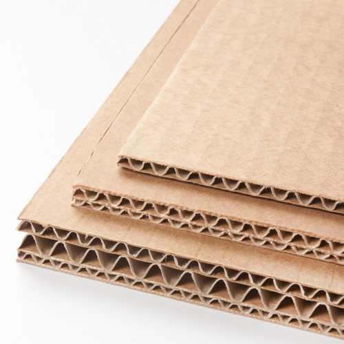 Planchas de cartón corrugado