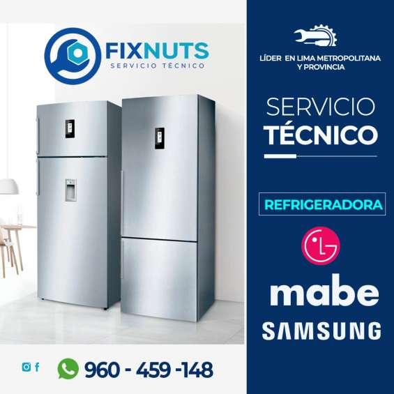 Fixnuts - 960 - 459 -148 servicio técnico refrigeradora y samsung- larco miraflores