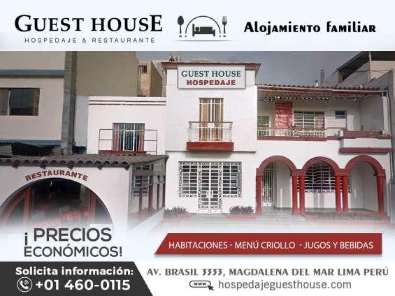 Hospedaje guest house – magdalena del mar