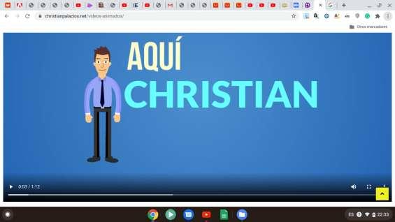 Videos explicativos animados para negocios o eventos personales