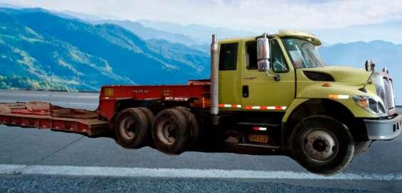 Transporte semitrailer camacuna