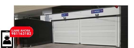 Instalación mantenimiento y reparación de puerta de garaje