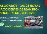 Abogados enderechopenal-transito-soat-sat