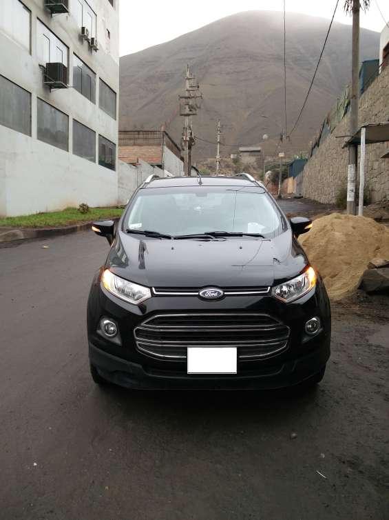 Vendo ford ecosport 2014