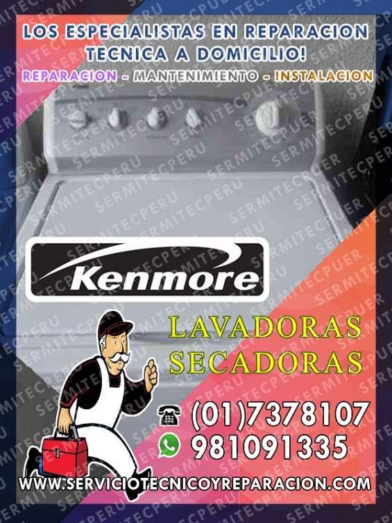 ¡consultas! reparación lavadoras..·[kenmore]·..017378107-lince