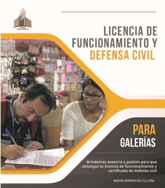 Asesoría y gestión municipal - licencia de funcionamiento