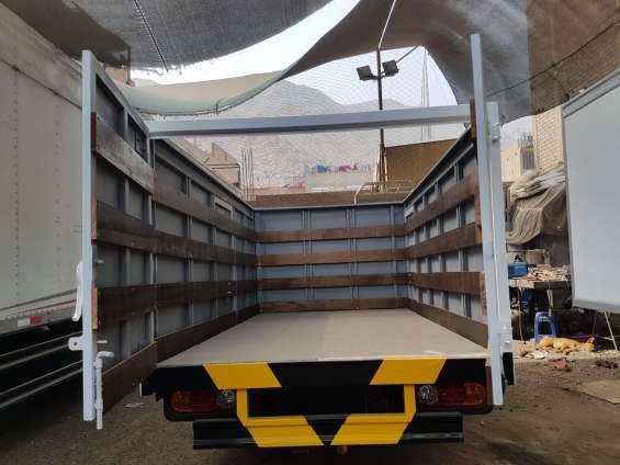 Fabricación de furgones para todo tipo de camión