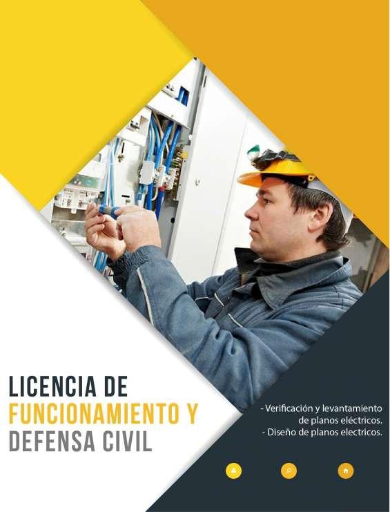 Fotos de Licencia de funcionamiento - certificado de defensa civil - itse 7