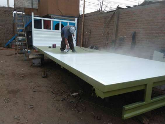 Servicio de pintado de carrocerias