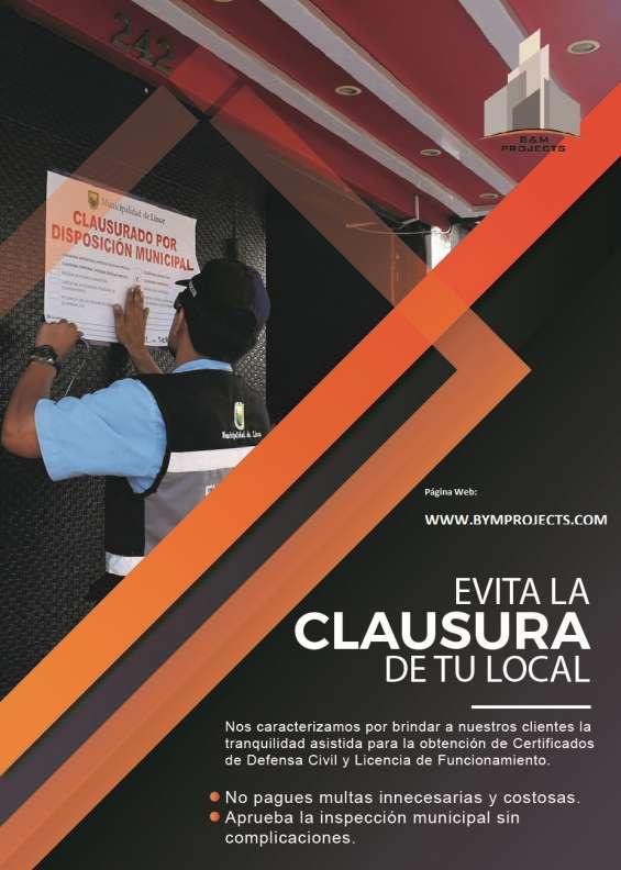 Fotos de Tramitación municipal - licencia de funcionamiento, asesoría, certificado de def 2