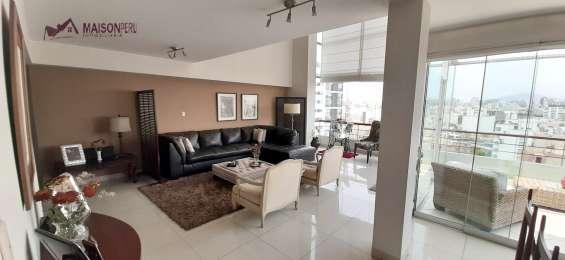 Duplex en venta 3 dorm. 230 m2 miraflores (ref: 695)-e-p