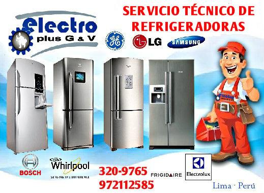Servicio diario, servicio técnico de refrigeradoras samsung, 972112588