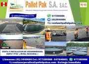Venta e instalacion de geomembrana hdpe y pvc