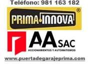 Puerta de Garaje Lima Perú Instalación Mantenimiento y Reparación de