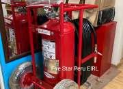 Extintor Rodante con Certificacion Ul Chiclayo
