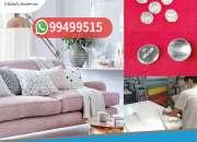 Botones acrílicos, casquillos, para tapizado de muebles
